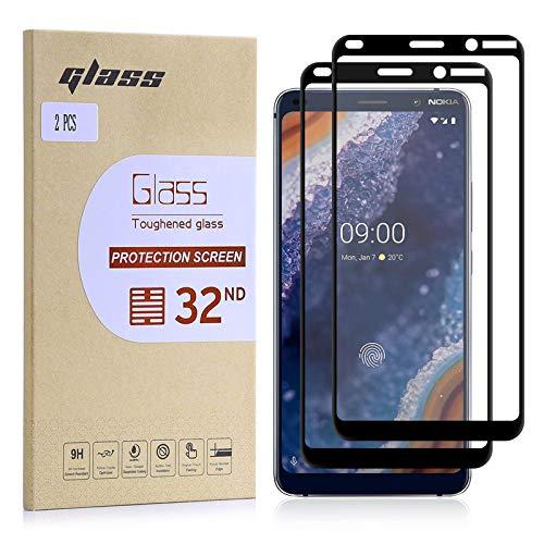 32nd Protecteur d'écran, [Installation sans Bulles], Protecteur d'écran en Verre trempé pour Nokia 9 PureView (2019) [2 pièces]