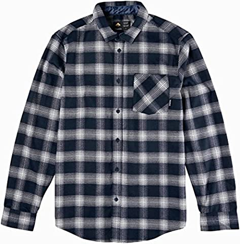 Emerica Strummer Ls Flannel, Color: Navy, Size: S