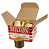 Milton 1654-12 7/8 OD Brass Hose Ferrule - Box of 10 by Milton Industries