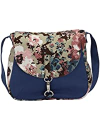 Vivinkaa Women's Sling Bag (Blue)