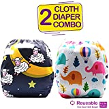 Bembika Cloth Diapers for Babies,Washable Reusable Cloth Diaper ll Sizes Adjustable
