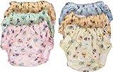 Chinmay Kids PVC Panty Joker/Diaper, Free Size (Multicolour)- 6 Pieces