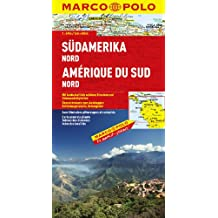 MARCO POLO Kontinentalkarte Südamerika Nord (MARCO POLO Kontinental /Länderkarten)
