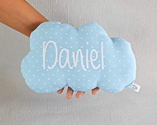 Cojín nube para bebé personalizado. *Novedad: Puedes añadir una cas