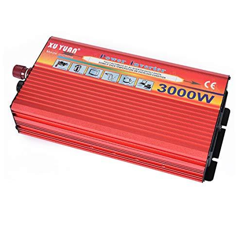 AWIS 3000W Spannungswandler Wechselrichter,12V bis 220V Leistungswandler, Auto Stromrichter Ladegerät