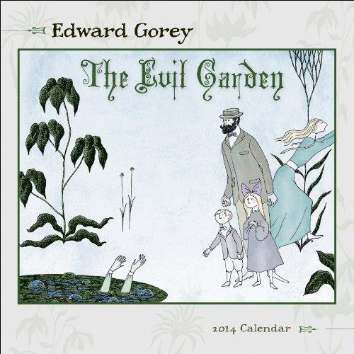 The Evil Garden by Edward Gorey Mini Calendar 2014