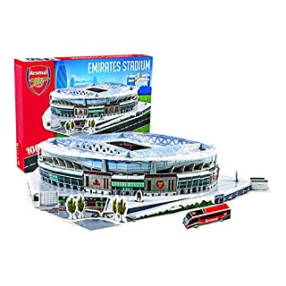 Giochi Preziosi 70037351 - 3D Stadion-Puzzle Emirat Arsenal London