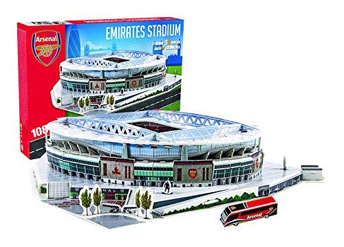 Giochi Preziosi Germany GmbH 70037351 Emirates Stadion Arsenal London 3D Puzzle