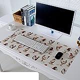 Tischdecke Pvc Mouse pad Tastatur-pad Untersetzer Wasserdicht] Weiche Glas Kunststoff Kristall-teller-H 35x60cm(14x24inch)