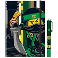 Lego 51865Cuaderno con lápiz, Ninjago Movie Secreto, DIN A5Hard Cover