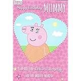 Peppa pig momia tarjeta de cumpleaños