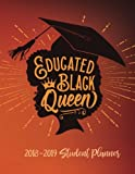 Educated Black Queen - 2018 / 2019 Student Planner for College Students: 2018 Gift Ideas - Calendars, Planners & Personal Organizers - Organization - ... Black Women, Black Girl Magic, HBCU Students