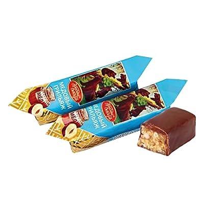 """Erdnuss-Haselnuss-Weichkrokant """"Mischka kosolapyj"""" mit Honiggeschmack"""