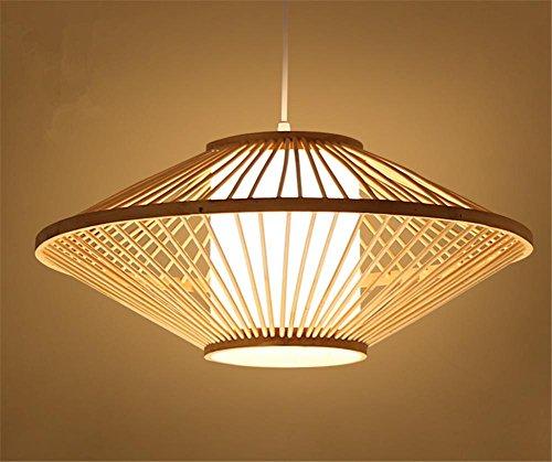 H&M Eclairage de plafond Luminaires Lustre Suspension Bambou tressé sur lustre restaurant restaurant bambou lampe chambre