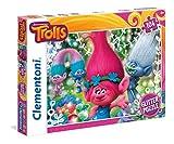 Clementoni 27249.5 - 104 T Glitter Puzzle Trolls