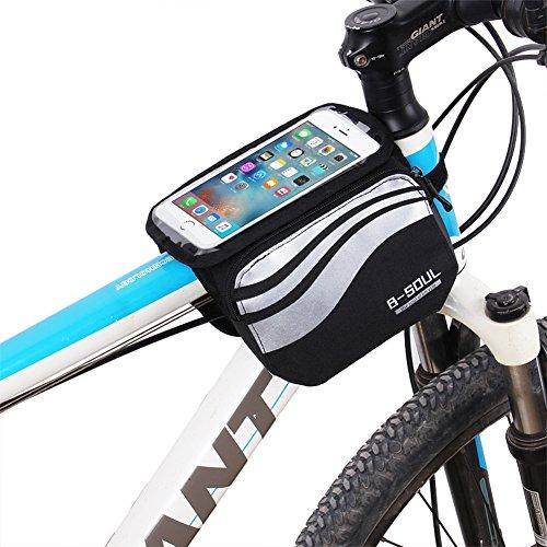 aizhe Fahrrad Top Tube Tasche Satteltasche Wasser Proof Aufbewahrungstasche für 12,7cm–