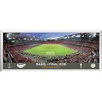 2016UEFA Europa League obiettivo finale Match dietro Framed Panoramic - Finale Framed