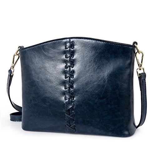 Pacchetto obliquo della signora/borsa monospalla piccola/semplice retro messenger bag-D D