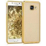 kwmobile Samsung Galaxy A3 (2016) Hülle - Handyhülle für Samsung Galaxy A3 (2016) - Handy Case in Gold Transparent