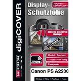 DigiCover B2742 Protection d'écran pour Canon PowerShot A2200