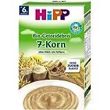 HiPP Bio-Getreidebrei 7-Korn, 6er Pack (6 x 250g)