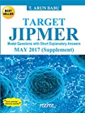 #9: Target Jipmer Pgmee May 2017 supplement