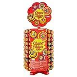Chupa Chups Carrousel, Best of Lollipops Wheel – 200 lolly's, 7 verschillende fruitige en romige smaken, snoepdisplay voor feestjes, op kantoor of als cadeau