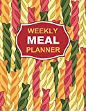 Weekly Meal Planner: Breakfast, Lunch, Dinner, 52 Week Food Planner & Grocery List Notebook/Journal/Diary (Fusilli Pasta Design)