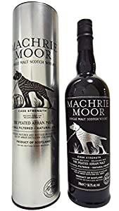 The Arran Machrie Moor Cask Strength 2nd Edition Single Malt Whisky 70cl Bottle from Isle of Arran Whisky Distillers
