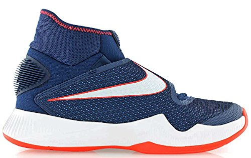 Nike Zoom Hyperrev 2016, espadrilles de basket-ball homme Bleu