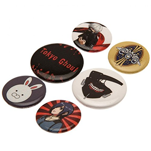 Tokyo Ghoul Mix Button-Pack Standard