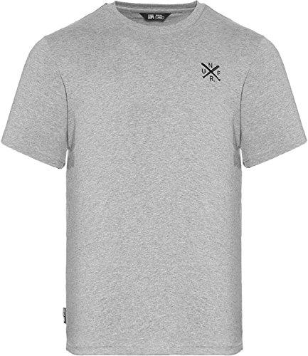 Unfair Athletics Herren Oberteile/T-Shirt UNFR Taped Grau S