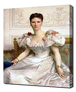 William Bouguereau - Madame La Comtesse De Cambaceres - Haute Qualité Reproduction - Impression Sur Toile