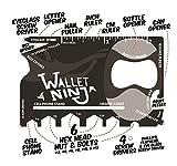 #9: Hanumex Wallet Ninja 18 in 1 Multi-purpose Credit Card Size Pocket Tool