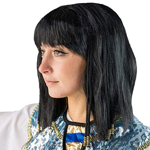 Bodysocks Kleopatra Perücke (Aztekische Halloween Kostüm)