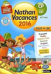 Nathan Vacances primaire - Du CP vers le CE1