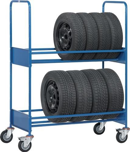 For Demand mtet586Wagen Transport für Reifen ohne Ladeschale, 250kg, 1540mm Länge x 670mm breite x 1725mm Höhe