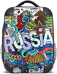 DIYthinker Rusia Invierno acordeón Casino Ilustración del estuche rígido de transporte para hombro Niños Mochila…