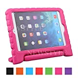 NEWSTYLE de Apple Mini iPad 3/2/1 Caso a prueba de golpes EVA portátil para niños con función de soporte de la cubierta del soporte para el iPad Mini (versión 2014) 3 / Mini iPad 2 con Retina Display / Mini iPad Tablet, rosa