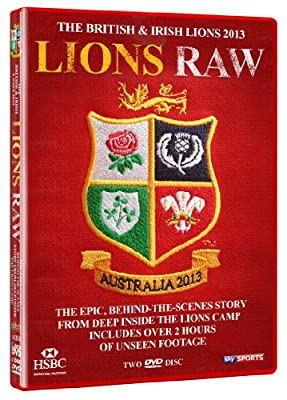 Lions Raw DVD: The British & Irish Lions 2013 behind the scenes documentary