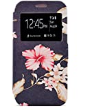 Pheant® Samsung Galaxy S7 Edge Fenêtre Vue Coque Étui à rabat Pochette en PU Cuir Cas Gel Housse de Protection avec Fonction de Support et Fermeture Magnétique