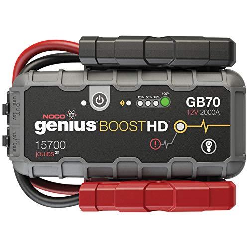 NOCO Boost HD GB70 2000 Ampere 12V UltraSafe Lithium Starthilfegeräte Auto Starthilfe für Bis Zu 8L Benzin Und 6L Dieselmotor