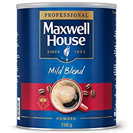 KS79319 Maxwell House Mild Blend Coffee Powder 750gm Tin 64997