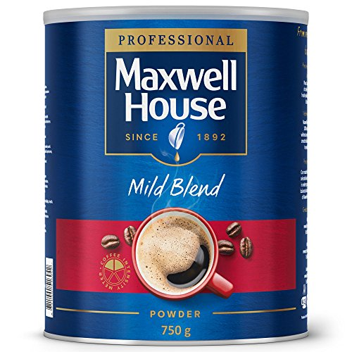 Maxwell House Mild Blend Powder 750g Tin 64997 51g48yHgQJL