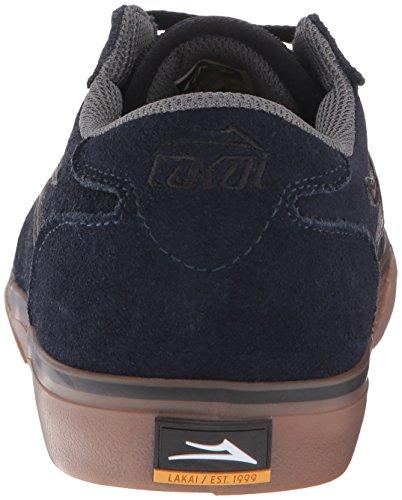 Chaussure Lakai Manchester Port Suede Navy/Gum Suede