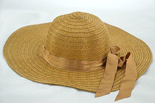 frontline-cappello-in-rafia-da-donna-40-cm-taglia-unica-marrone-taglia-unica