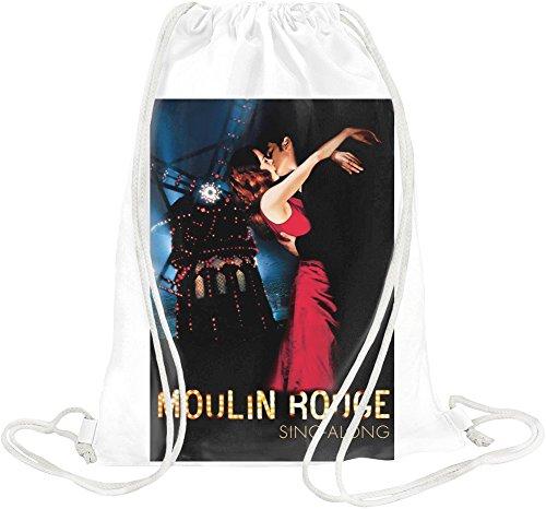 Moulin Rouge Poster Drawstring bag