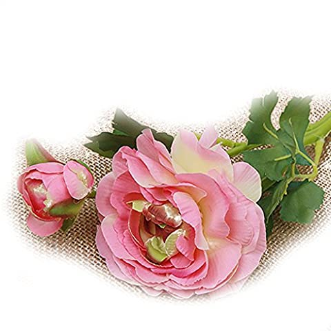LUFA Fleurs Lotus Artificielle Rose Party Floral Wedding Home Decor