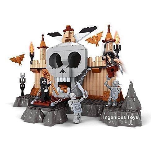 Ausini Magia Scope Piratas Guerrero & Calavera Island Esqueleto 294pcs #27614