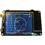 NanoVNA Network Vector Analyzer, Display LCD da 2,8 Pollici, Kit SMA di Calibrazione per Varie Radio di Progettazione E Simulazione Software (Nero)